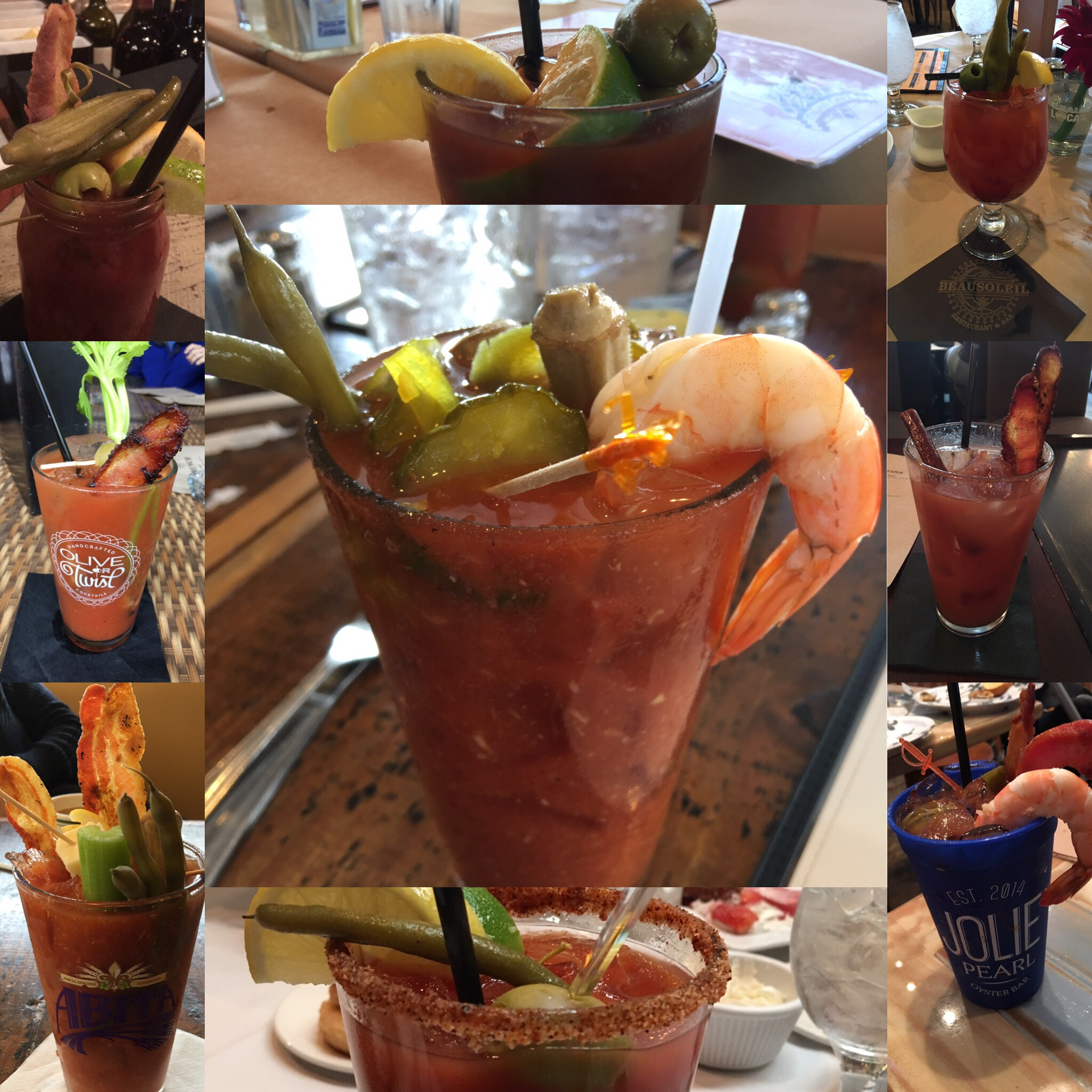 Baton Rouge Brunches' Favorite Bloody Mary Venues